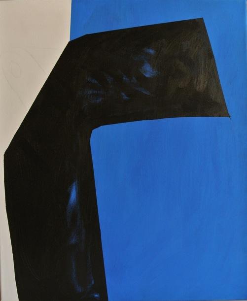 Titanilla Eisenhart, LEBEN 60 x 50 cm Acryl auf Leinwand 2017